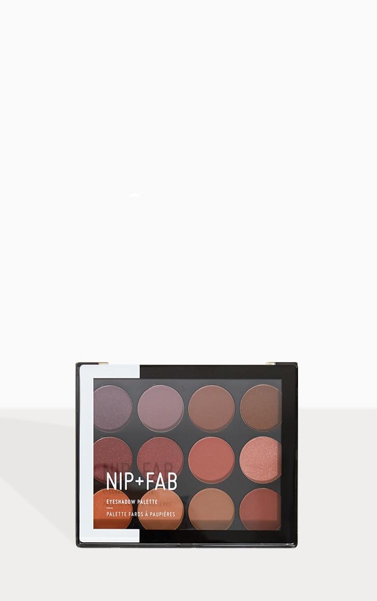 Nip & Fab Fired Up Eyeshadow Palette  1