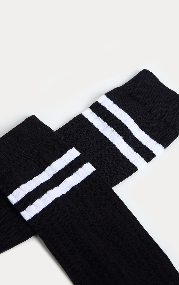 Black Knee High Referee Socks 4