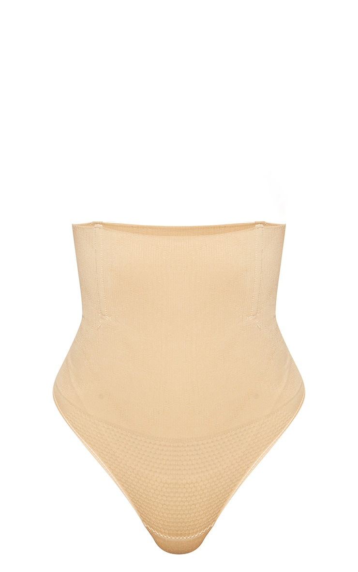 Nude Shapewear High Waist Control Thong 3