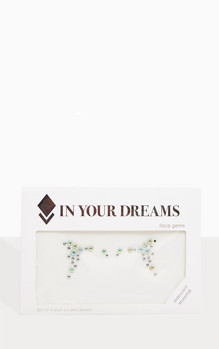 In Your Dreams Iridescent Waterfall Face Jewels 2