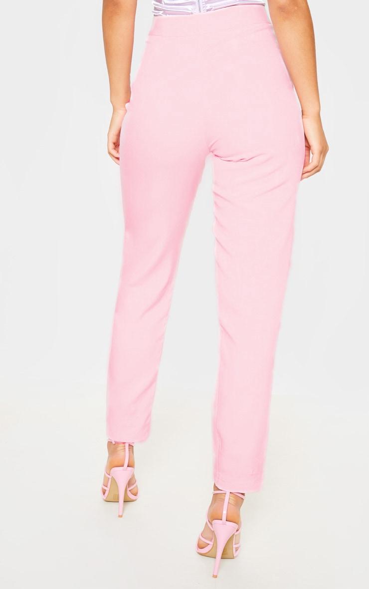 Avani pantalon de tailleur rose 4