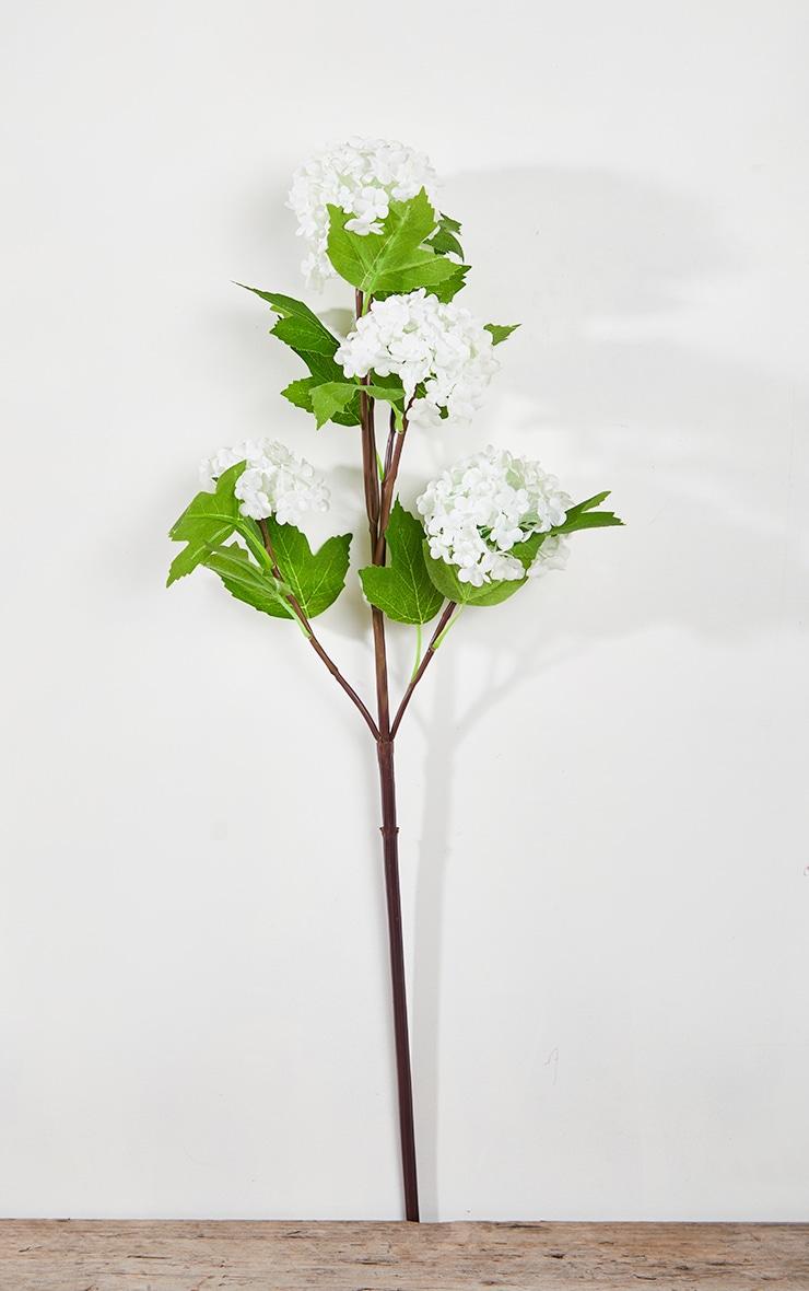 Artificial Flower Single Headed Viburnum 4