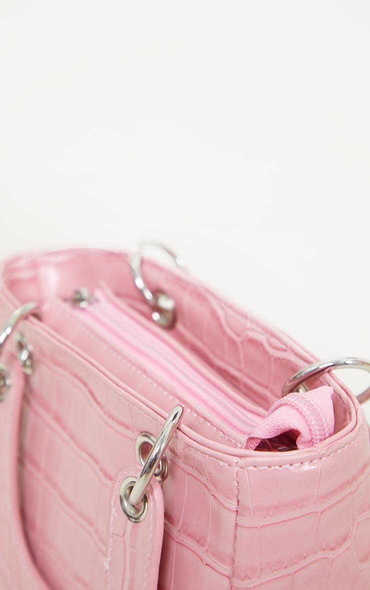 Pink Croc Mini Grab Bag 4