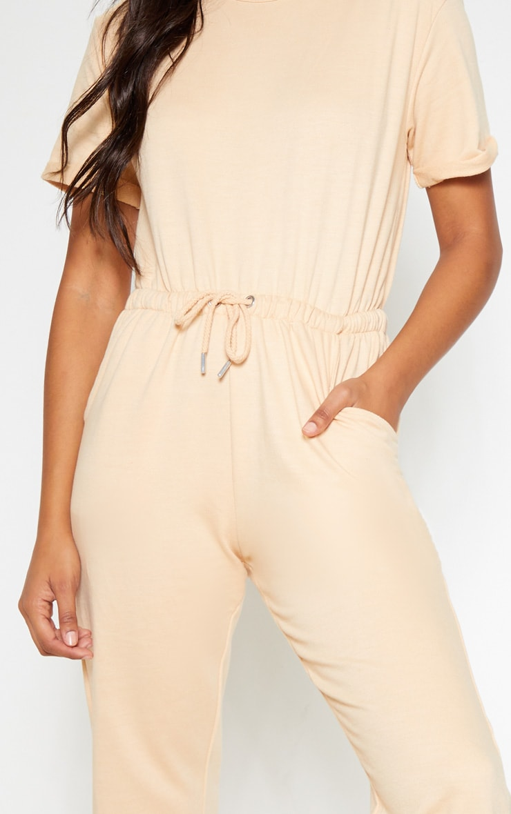 Fawn Short Sleeve Sweat Jumpsuit 5