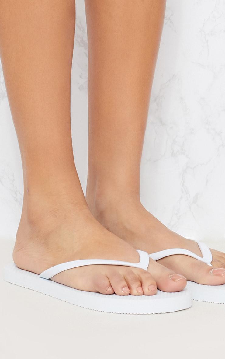 Black & White Flip Flops 2 Pack 10