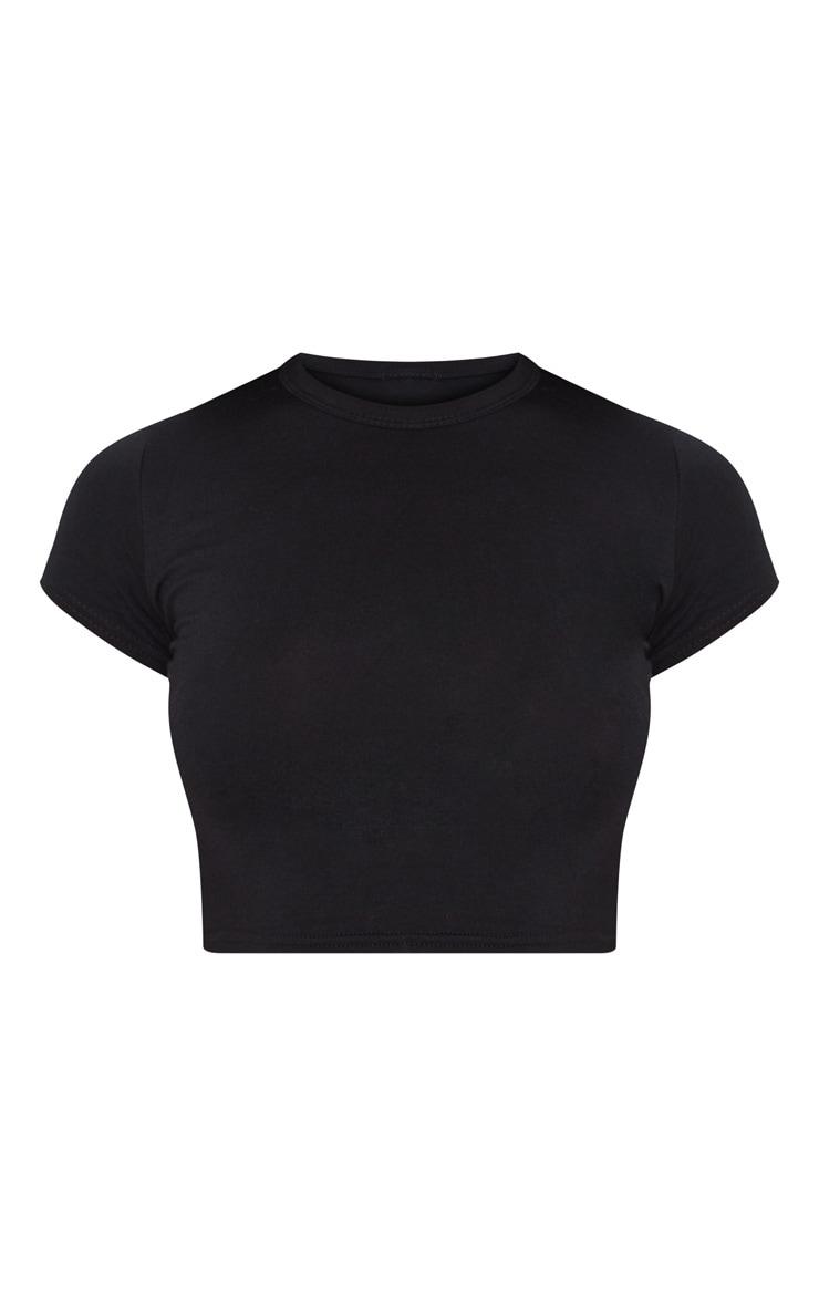 PLT Essentiel - T-shirt manches courtes basique noir 5