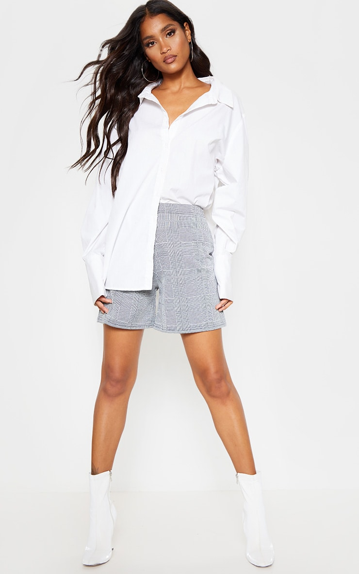 Grey Check Tailored Short 5