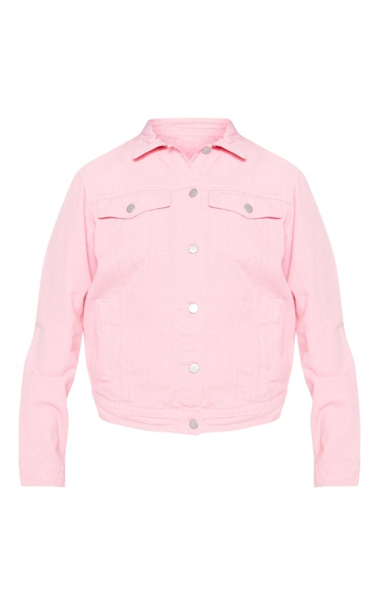 Light Pink Denim Jacket 3