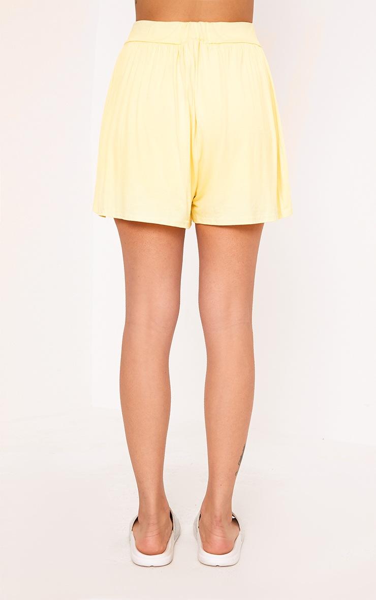 Lemon Jersey Floaty Shorts 4