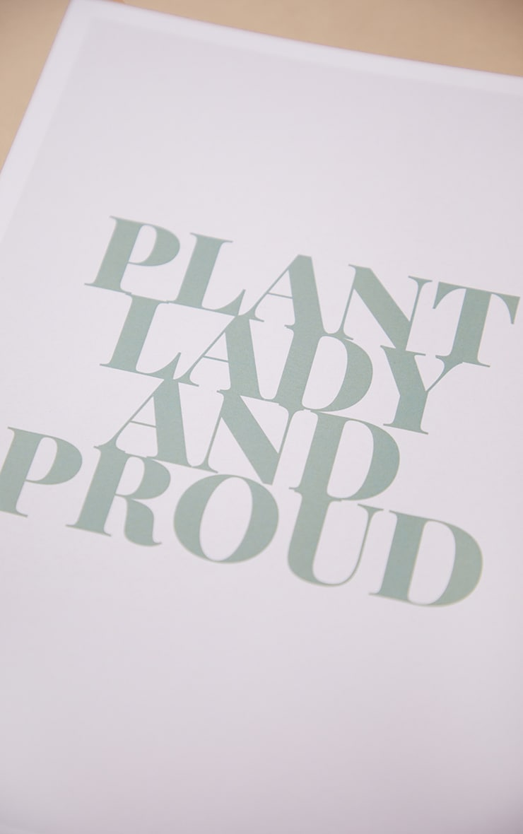 Plant Lady A4 Recycled Peechy Print 4