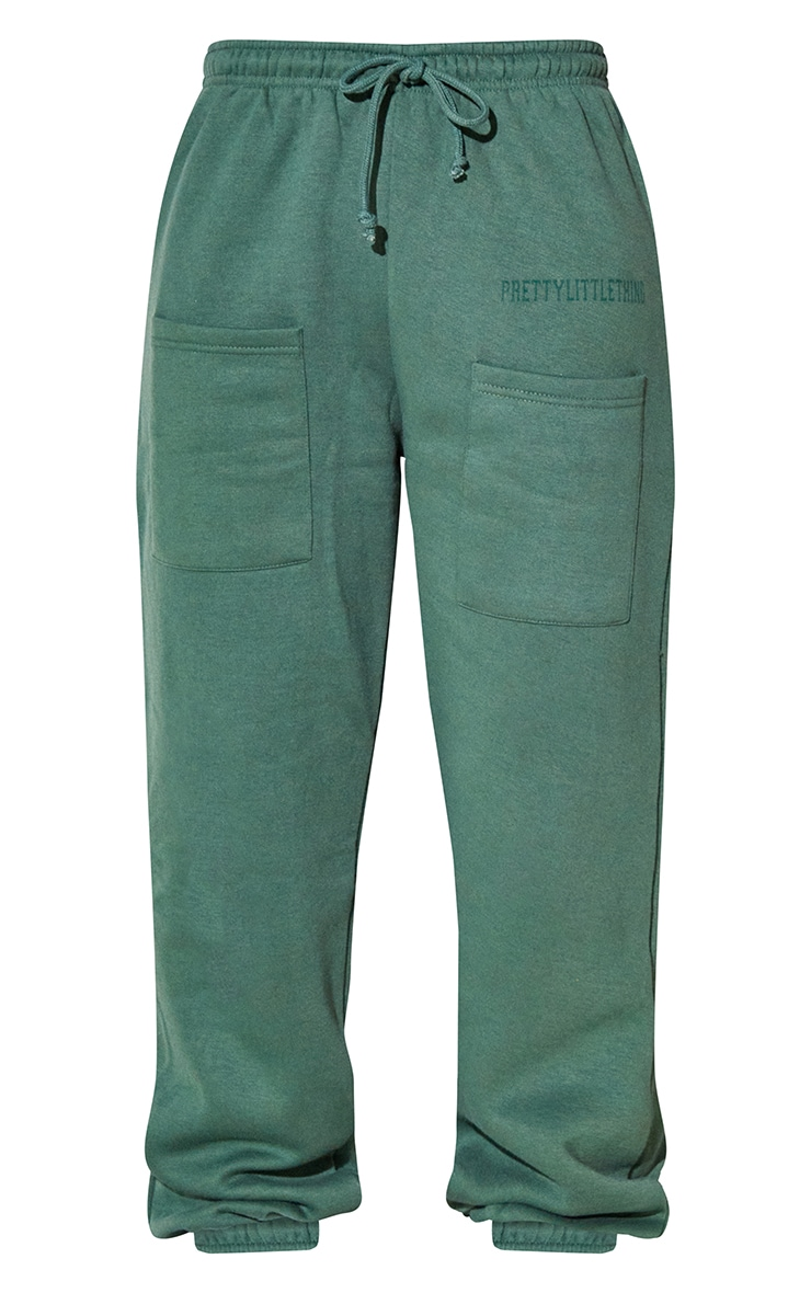 RENEW PRETTYLITTLETHING Green Pocket Front Joggers 5