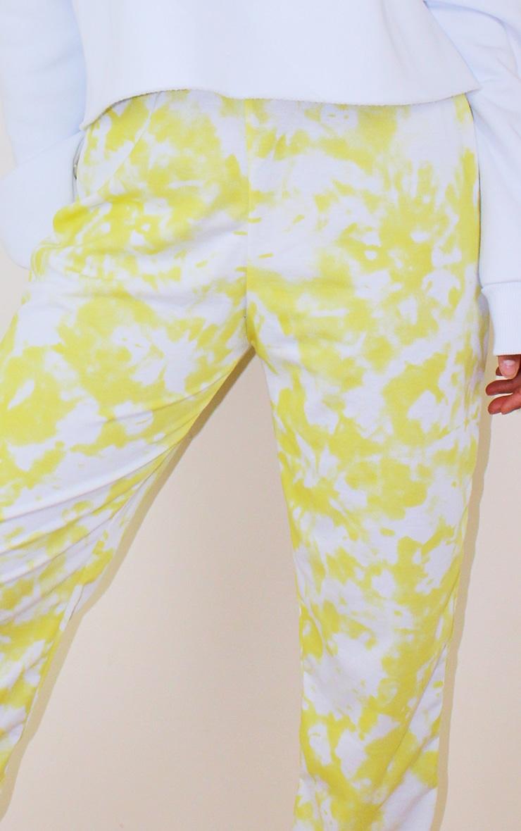 Petite Yellow Tie Dye Jogger 4