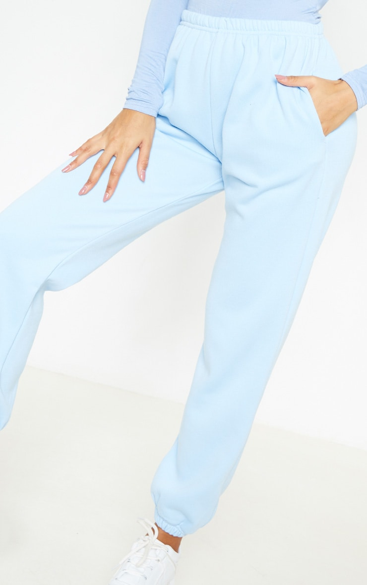 Pastel Blue Casual Jogger 5