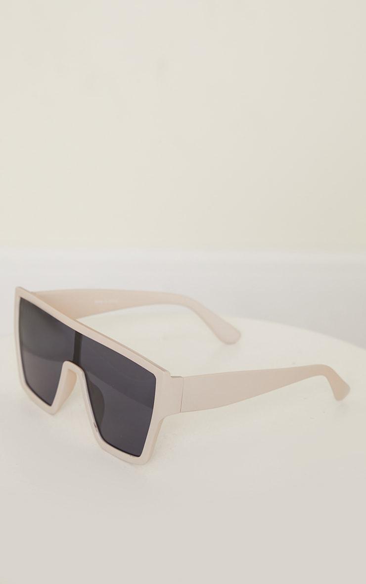 Stone Matte Oversized Square Frame Sunglasses 3