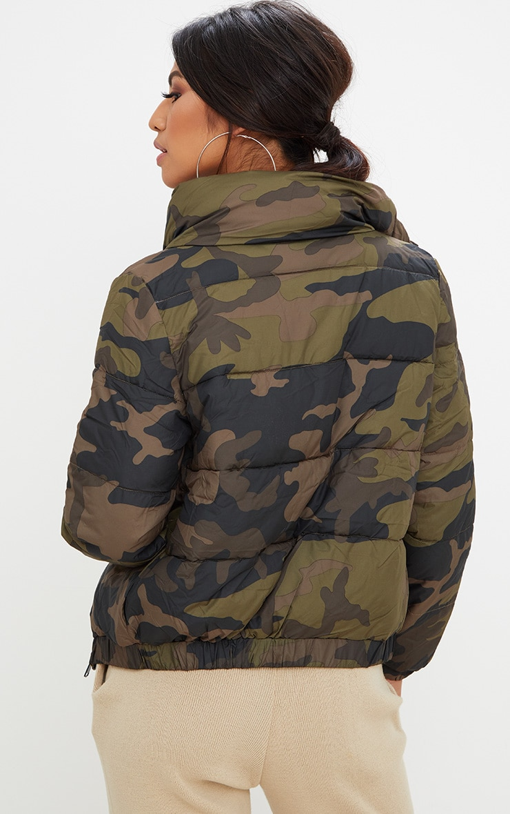 Camouflage Puffer Jacket 2