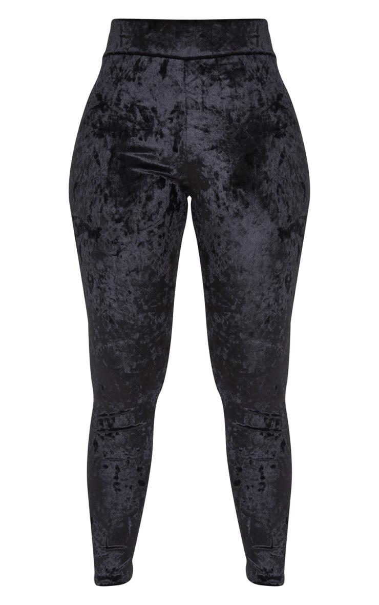 Black Velvet Legging 3