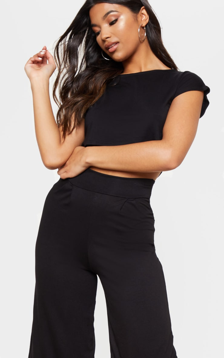 Basic Black Culottes 6