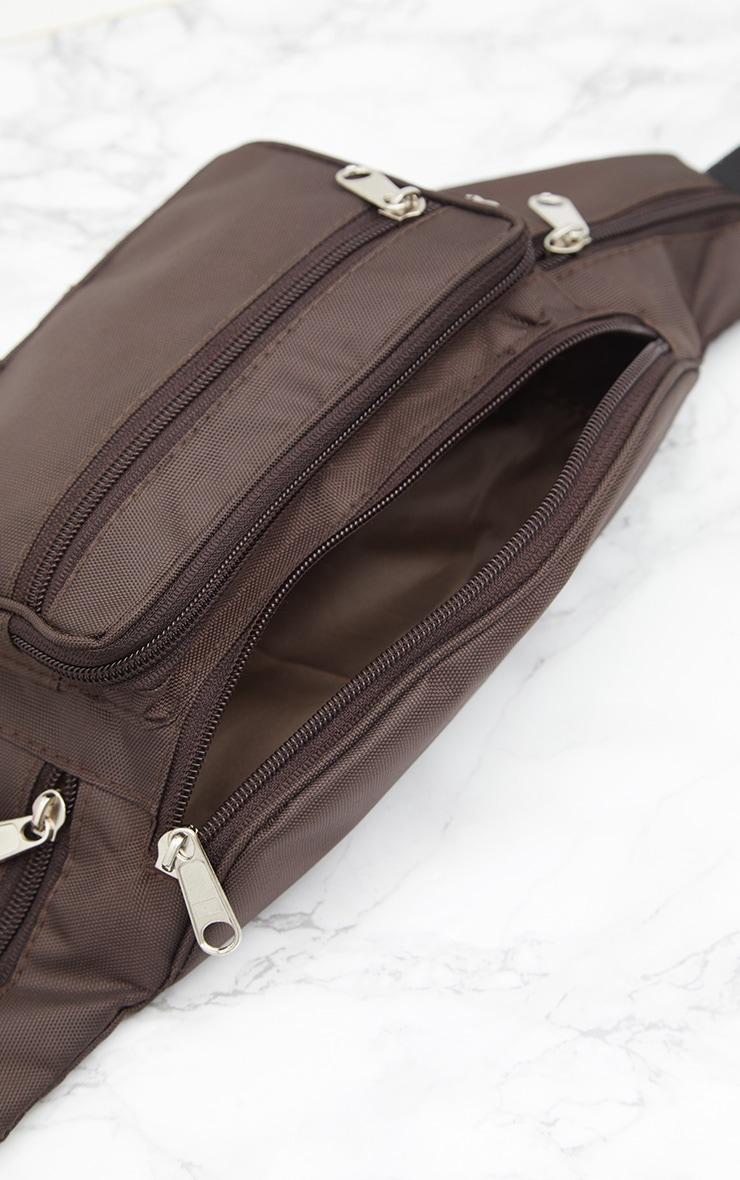 Brown Front Pocket Bum Bag 5