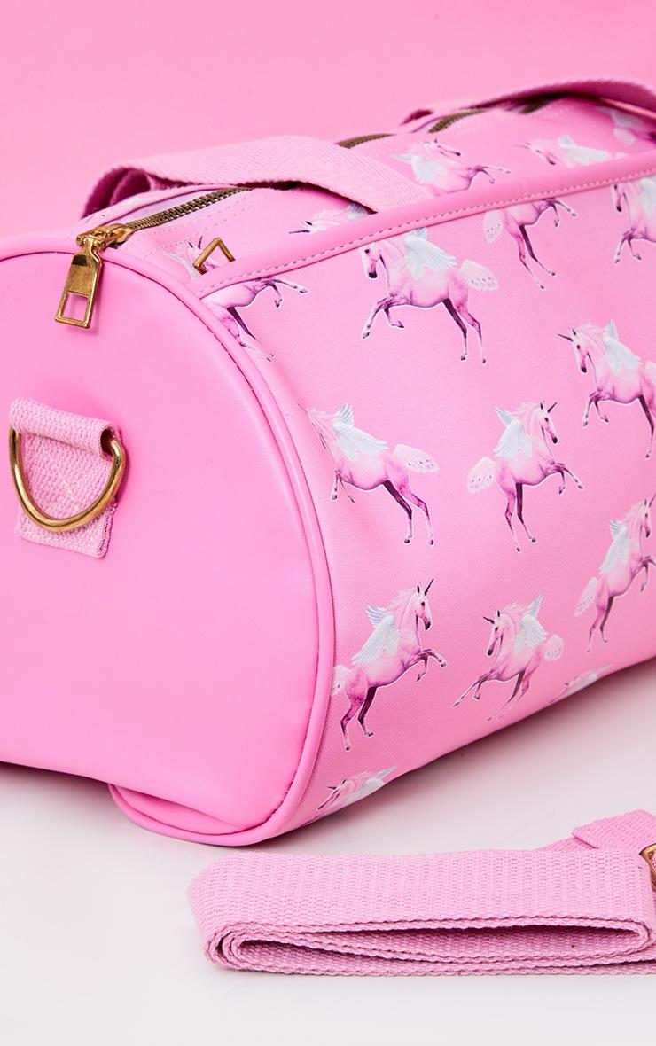 PRETTYLITTLETHING Unicorn Pink Gym Bag 5