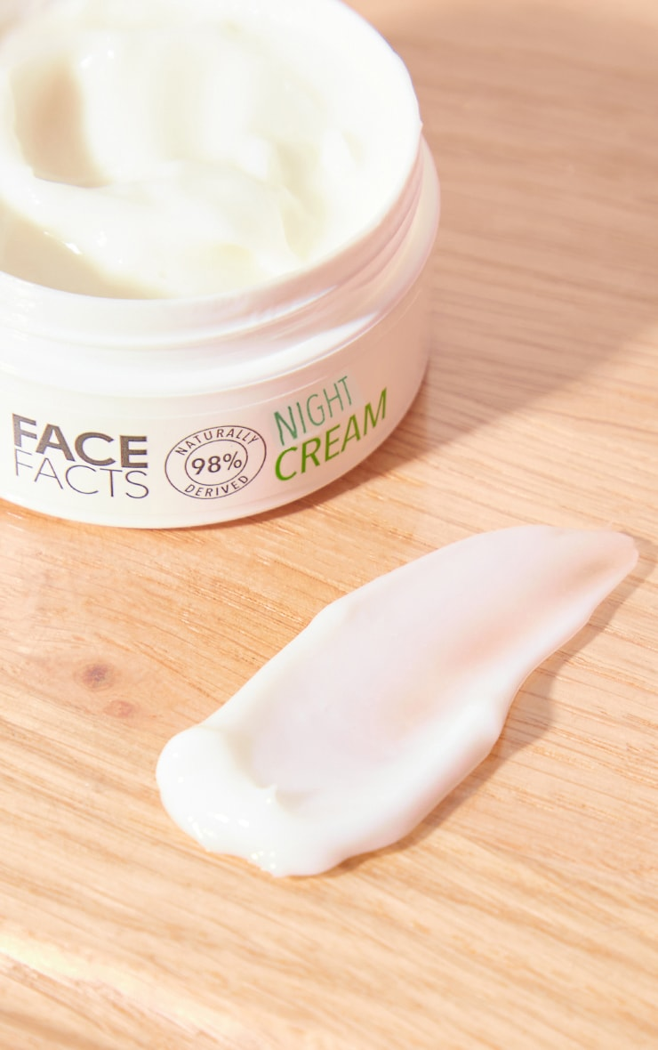 Face Facts Natural Night Cream 2