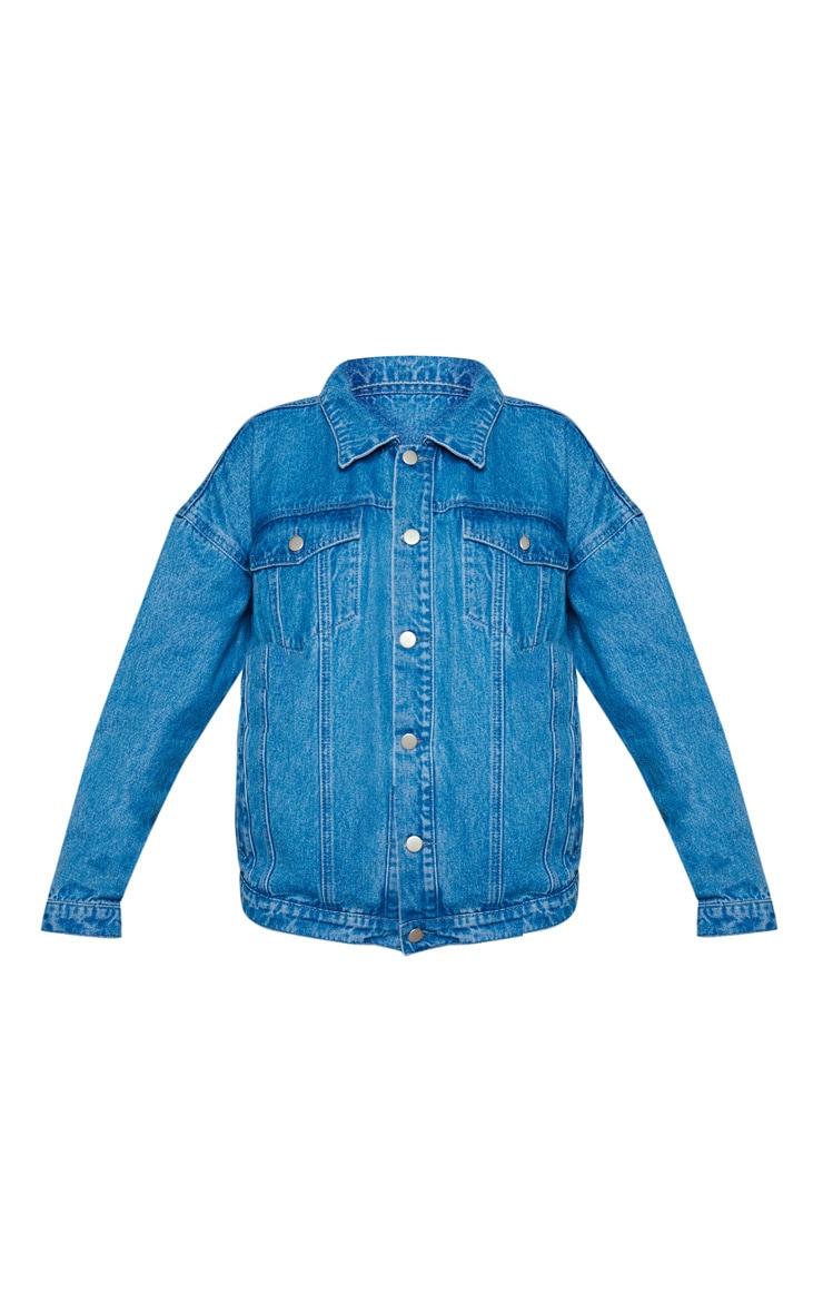 KARL KANI Vintage Wash Denim Jacket 3