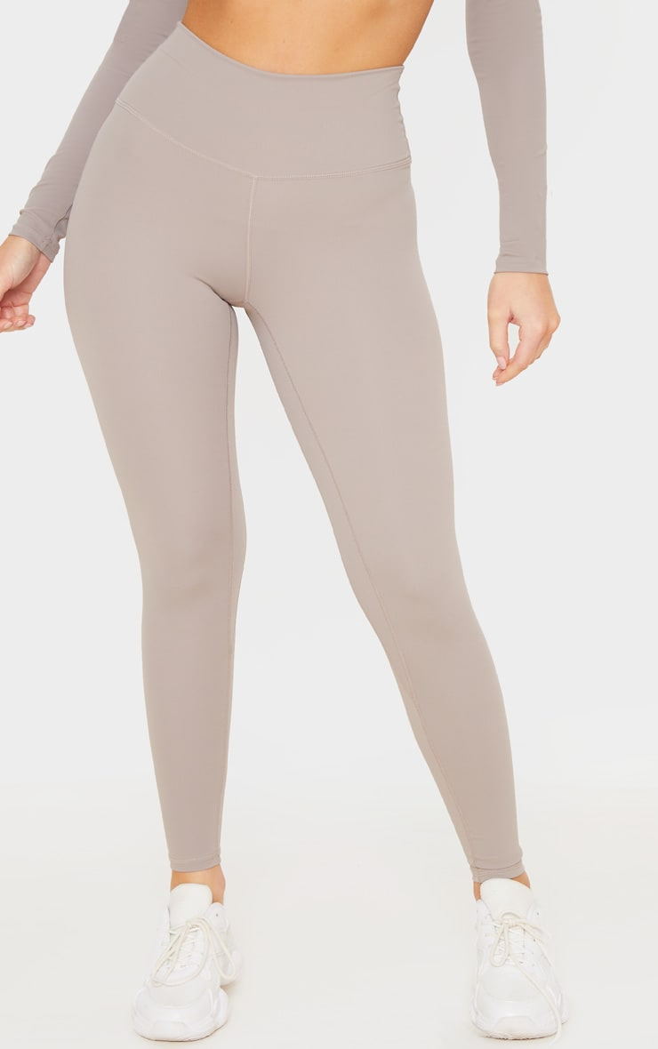 Taupe Sculpt Luxe Gym Legging 2