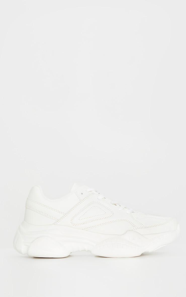 Ecru Arch Sole Chunky Sneakers 3