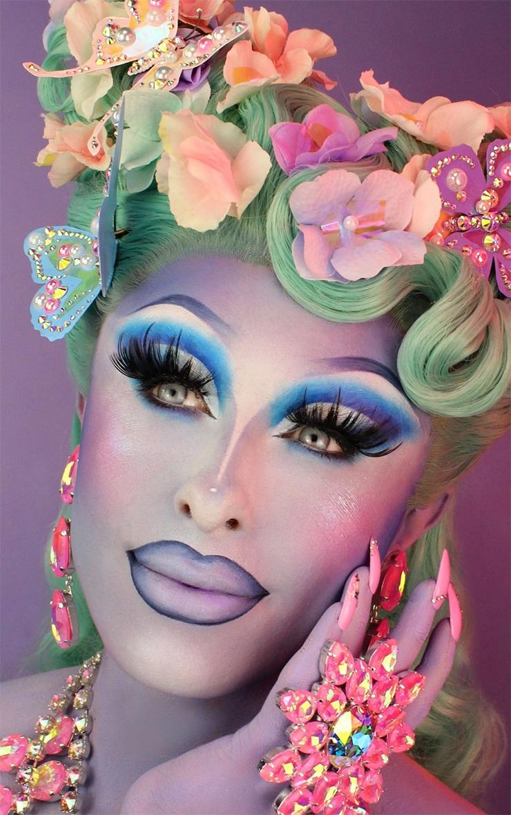 BPerfect x Blu Hydrangea Painted Lip Collection Soft Matte Lipstick Hydrangea 5