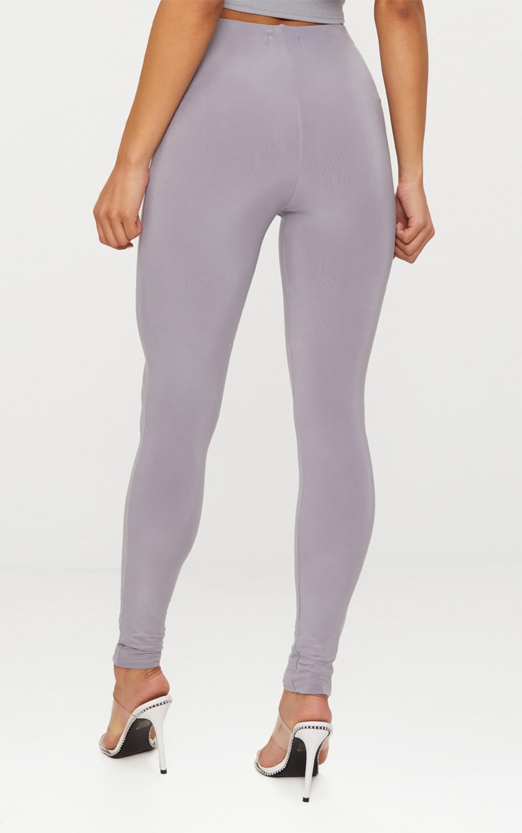 Grey Second Skin Slinky Legging 3