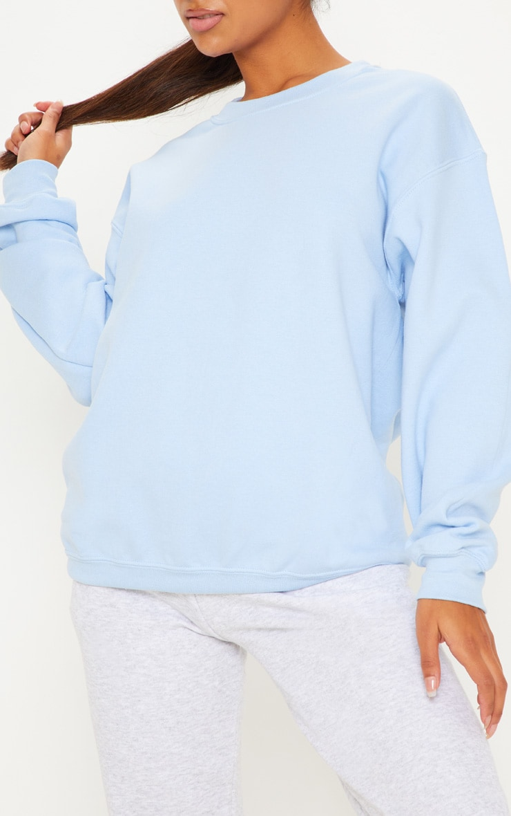 Light Blue Ultimate Oversized Sweater 5