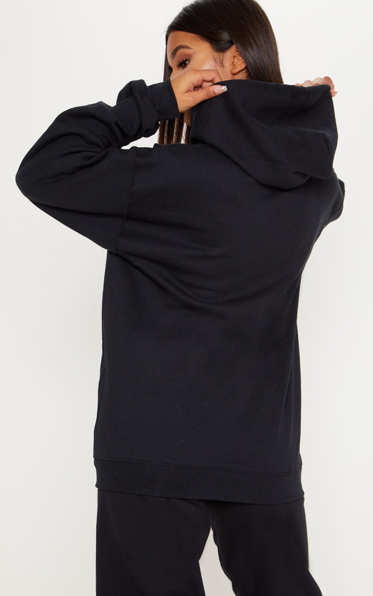 Black Fleece Zip Up Hoodie 2