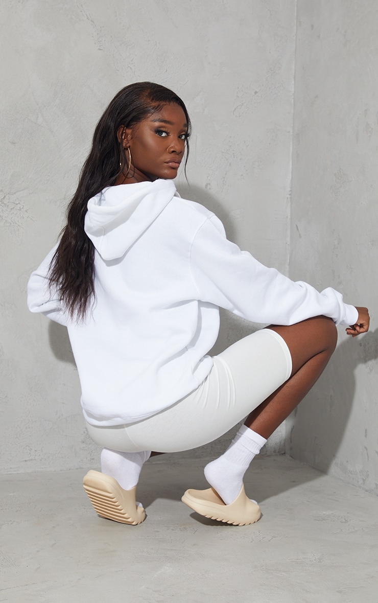 Tall - Hoodie oversize blanc classique 2