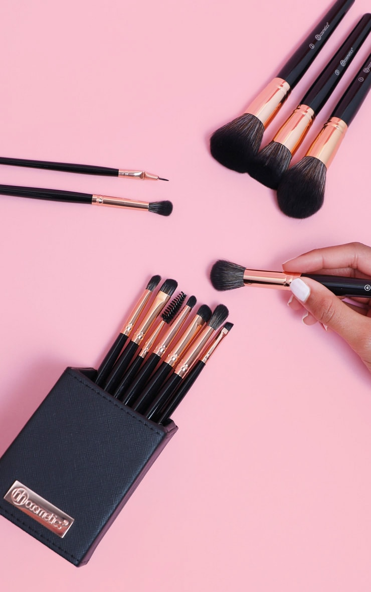 BH Cosmetics Signature Rose Gold 13 Piece Brush Set 1