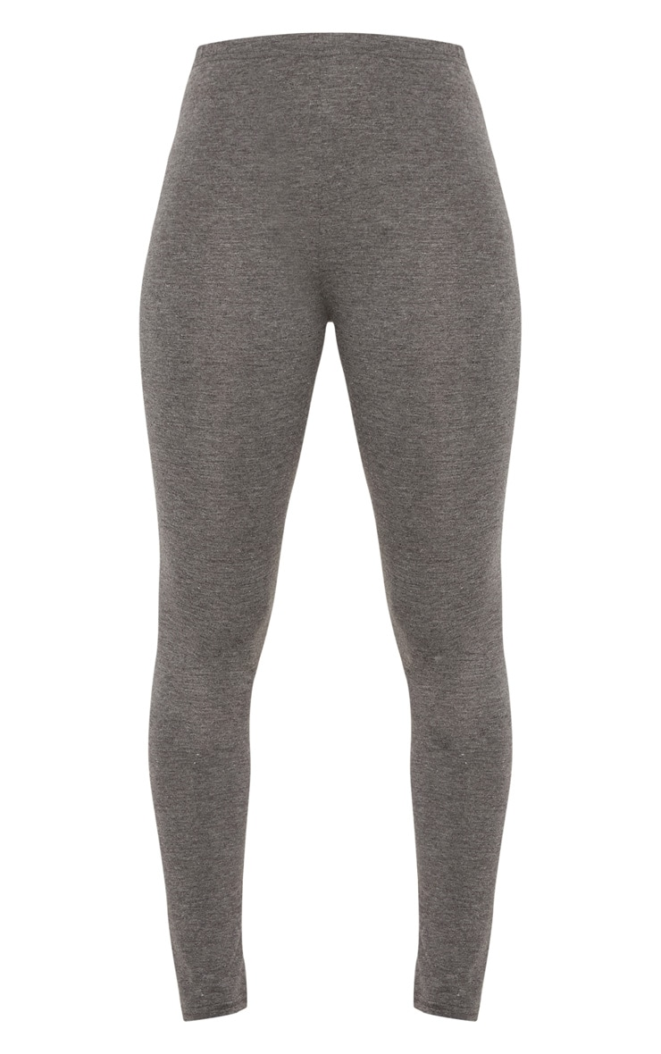 Charcoal Basic Jersey Legging   3