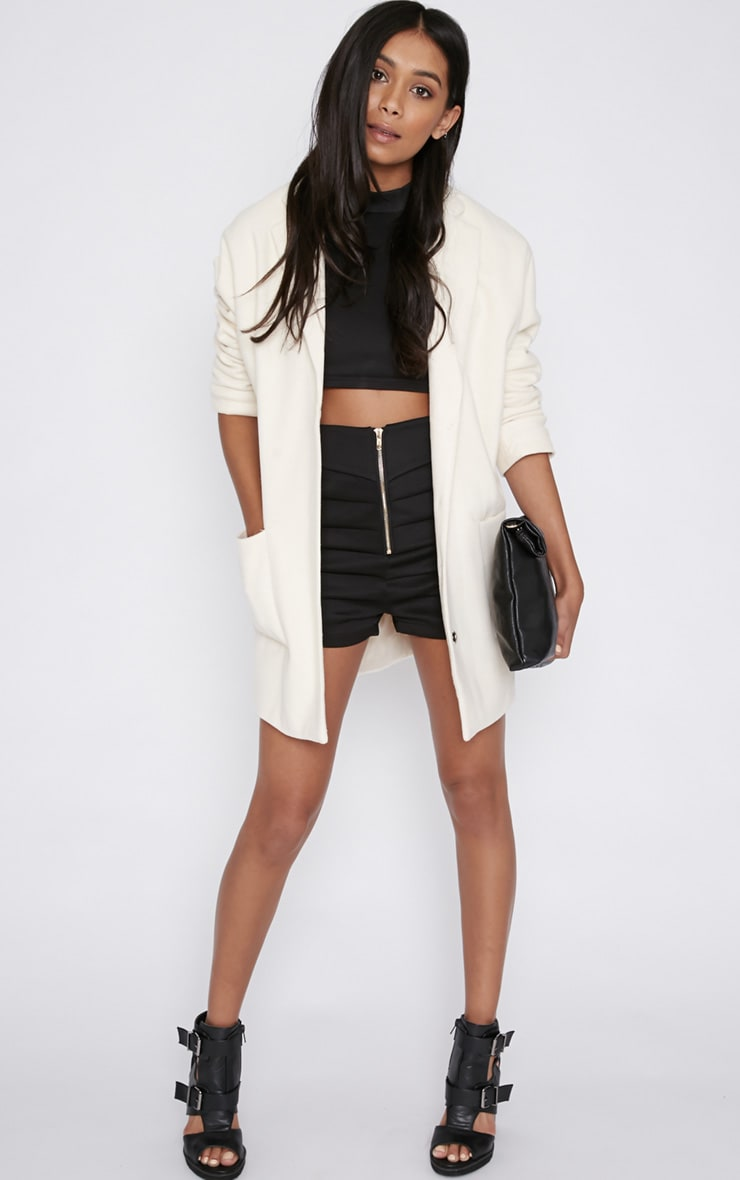 Hope Cream Boyfriend Coat  4