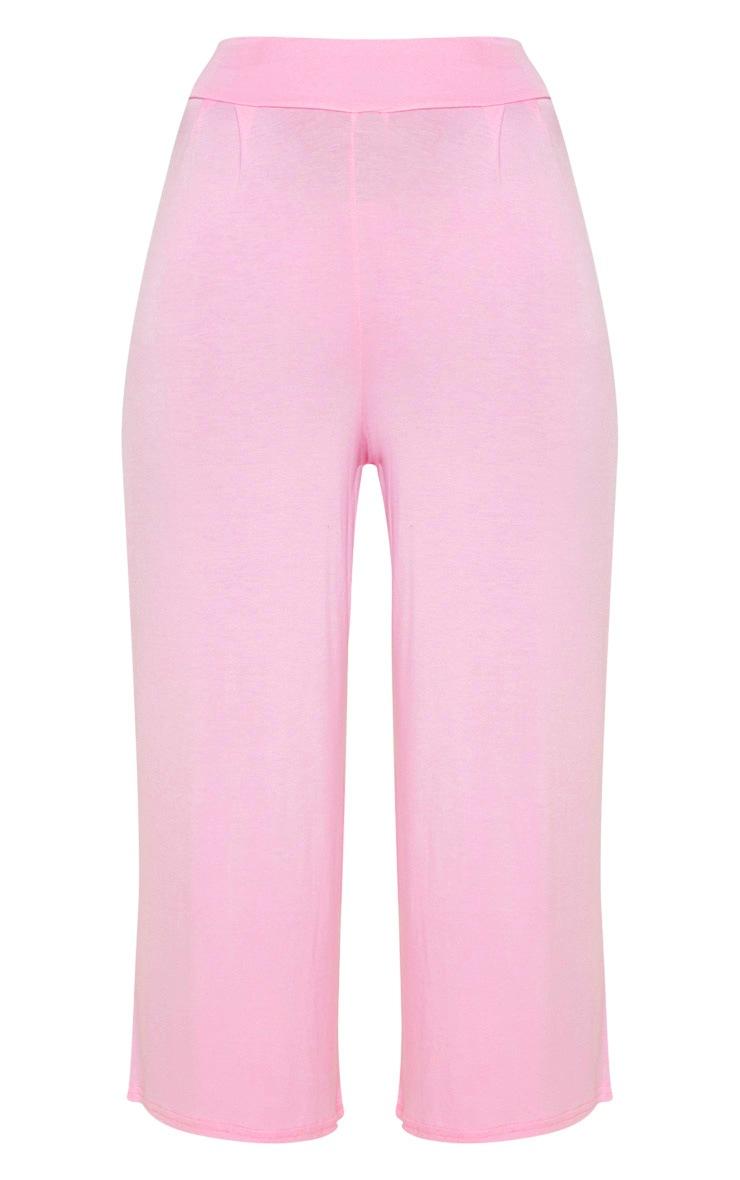 Pale Pink Basic Culotte 3