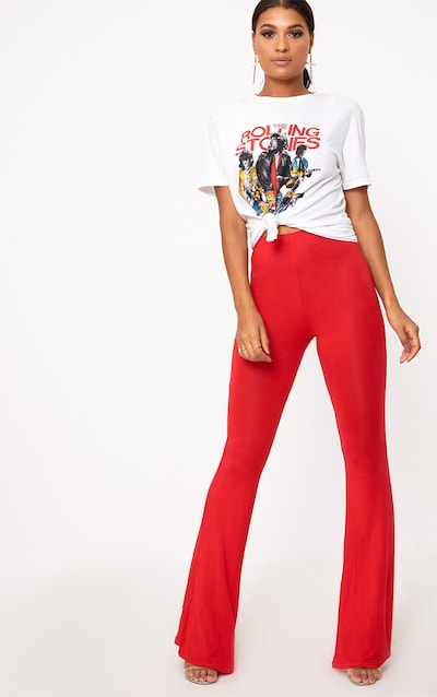 155e5af0652a8 Flares | Women's Flared Trousers | PrettyLittleThing