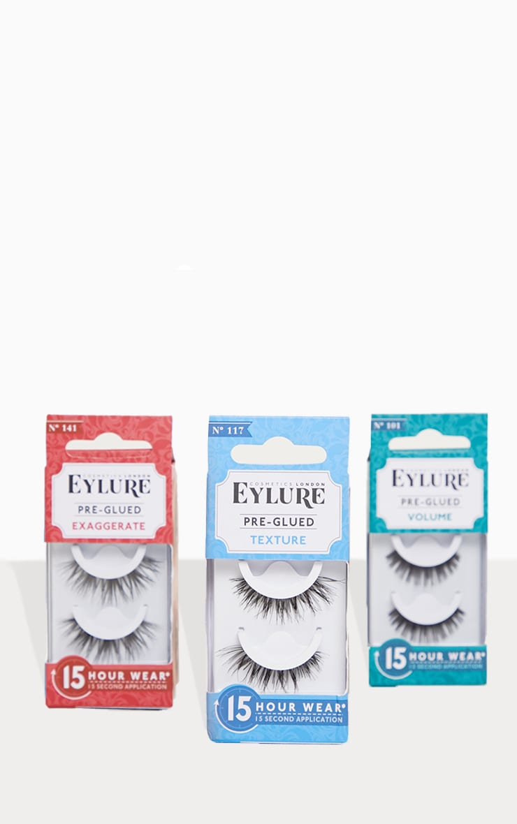 2eb6ad101f5 Eylure Pre-Glued Texture Lashes 117   Beauty   PrettyLittleThing