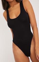 Basic Black Racer Back Bodysuit 6