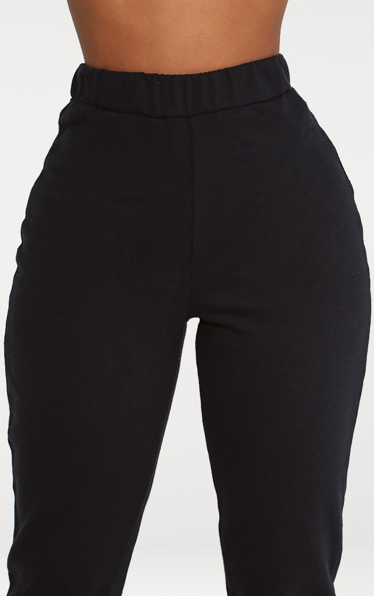 Shape Black Elastic Bottom Joggers 5