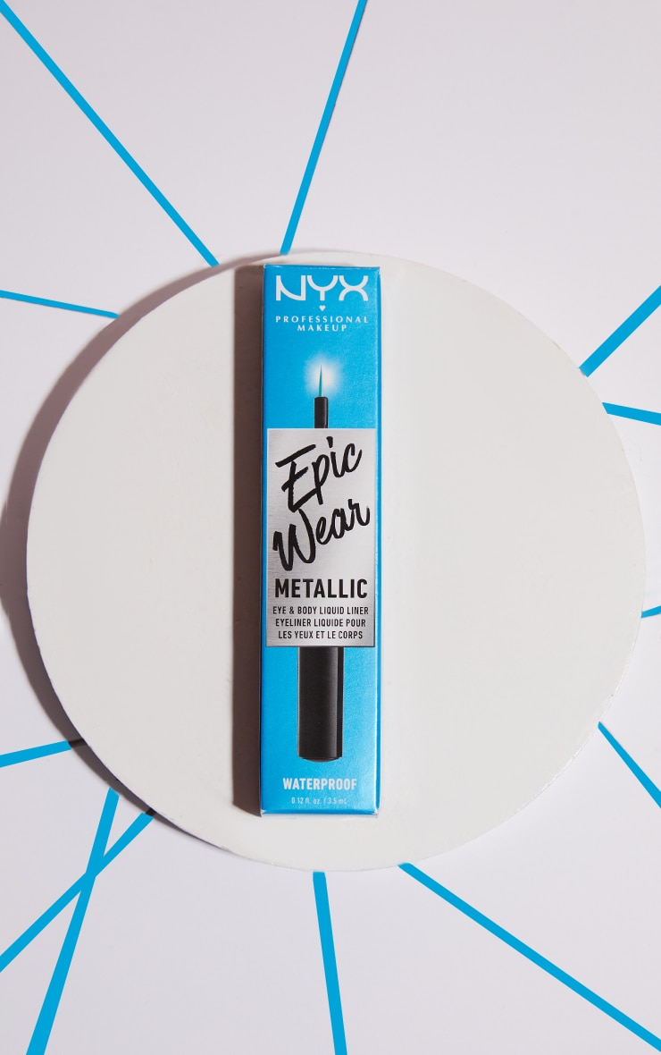 NYX PMU Epic Wear Metallic Liquid Liner Teal Metal 2