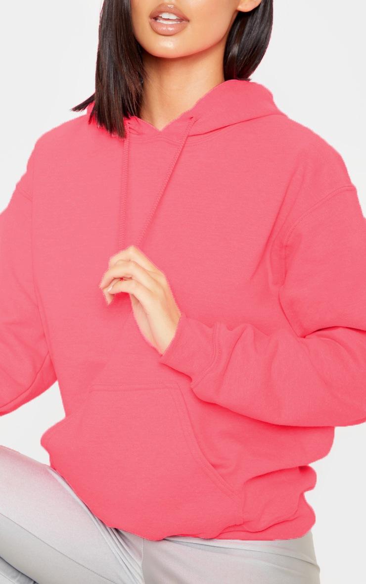 Pink Ultimate Oversized Hoodie 5
