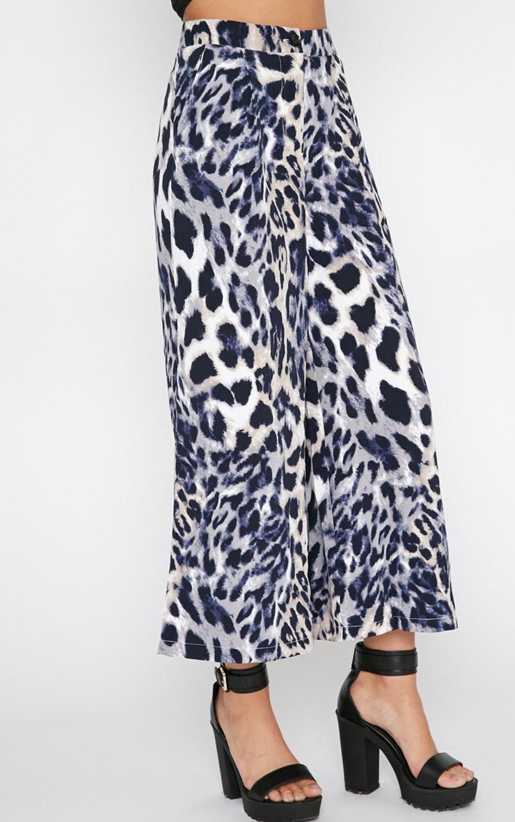 Jaidyn Blue Leopard Culottes 4