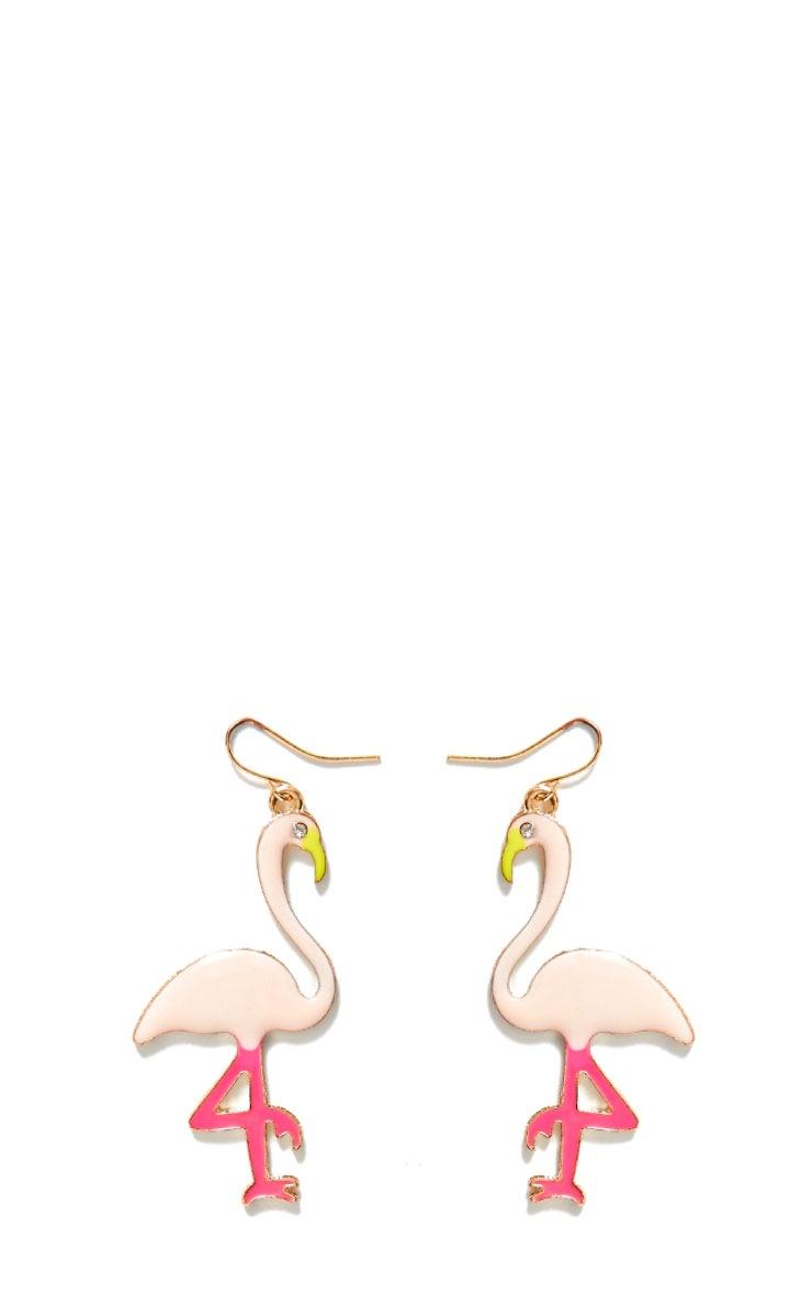 Flamingo Earrings 2