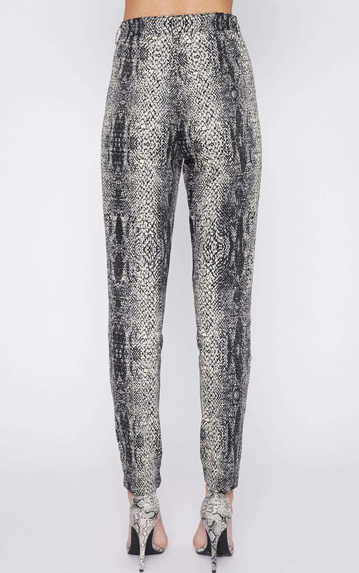 Karni Snake Print Trouser  2