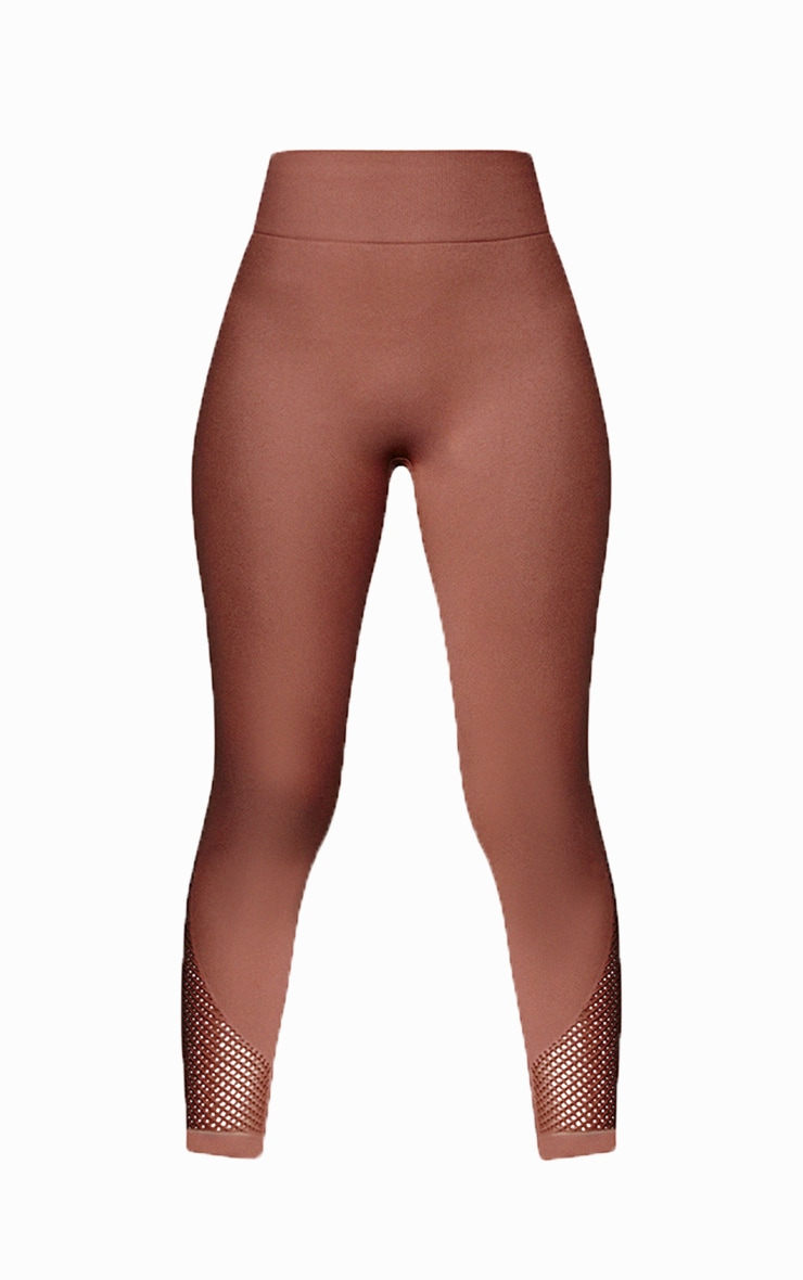 Toffee Cut Out Seamless Leggings 5