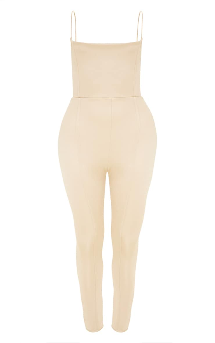Plus Nude Second Skin Cut Out Side Jumpsuit 3