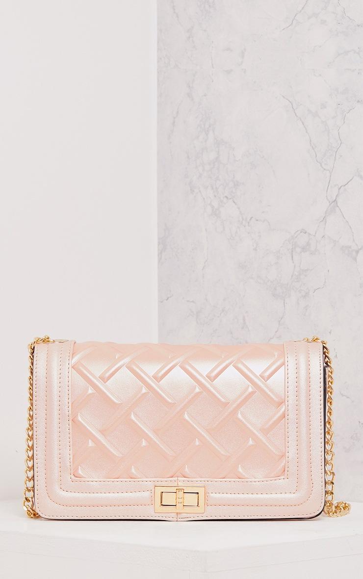 Cindy Rose Gold Chain Strap Shoulder Bag 1