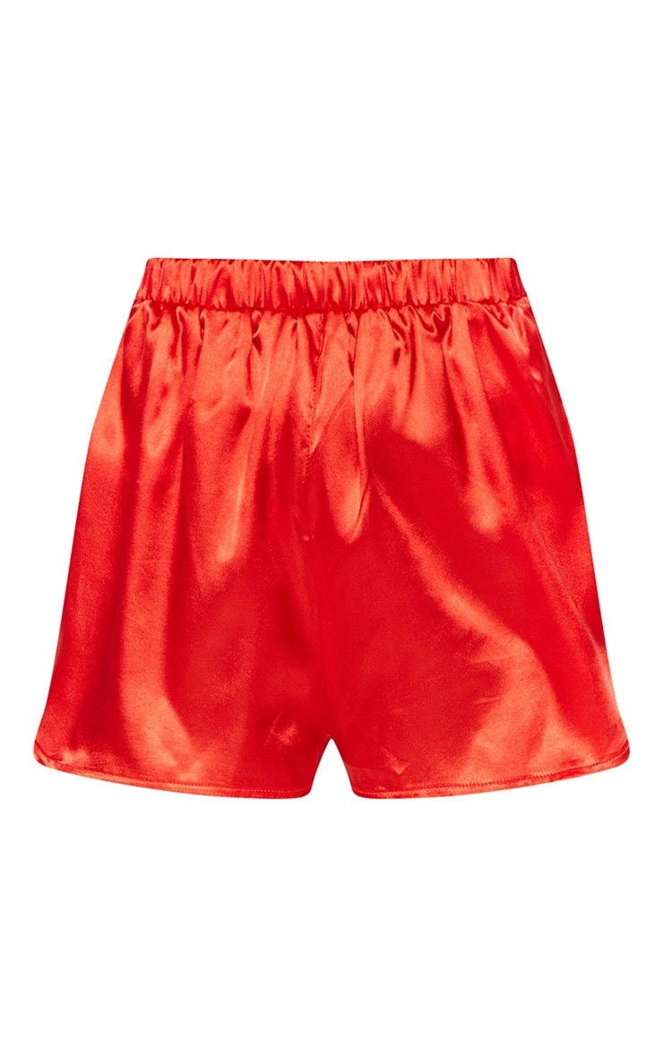 Petite Red Runner Shorts 3