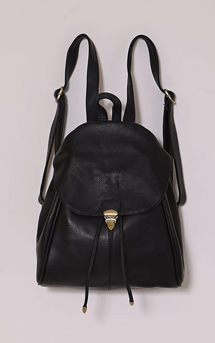 Sabria Black Backpack 4